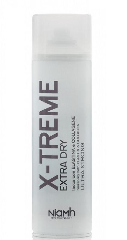 X-TREME Extra Dry Lacca con Elastina e Collagene