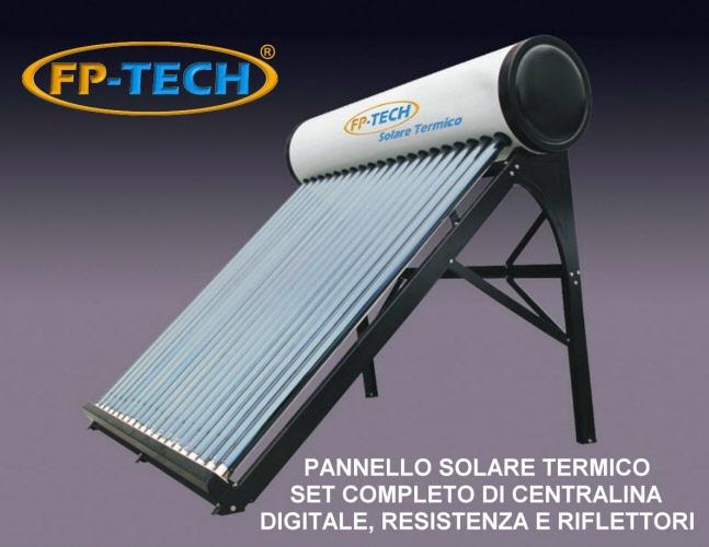 Pannello Solare Termico Non Pressurizzato : Pannello solare termico heat pipe pressurizzato con tubi a