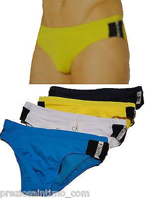 Costume Calvin Klein Slip mare piscina Uomo L swimsuit men maillot ...