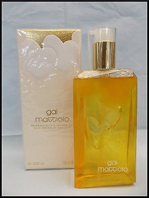 purchase cheap 09765 da5b3 Gai Mattiolo Donna BAGNOSCHIUMA 300ML BAIN PARFUM profumo femme bat shower  gel