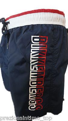 Boxer Mare Bikkembergs Uomo Costume da Bagno corto Blu short HOMME ...