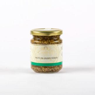 Patè di olive verdi gr 190