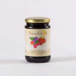 Confettura Biologica extra di Frutti di Bosco gr 370