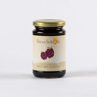 Confettura extra di Gelsi neri di Sicilia gr 370
