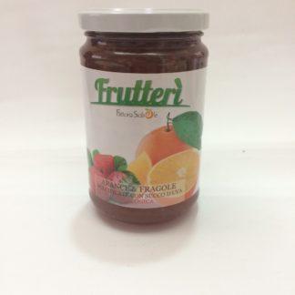 Confettura di arance e fragole gr.370 - bio frutterì