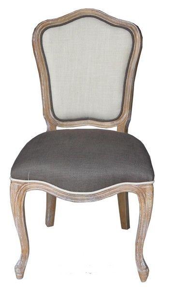 Poltrona poltroncina barocco legno pelle vintage sedia per camera da ...